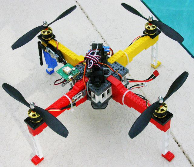 LEGO Quadcopter Kickstarter