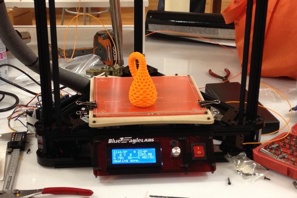 Meet our new 3D printer