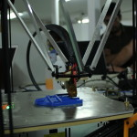 3D printing a quadcopter part