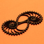 Laser-cut nautilus gears