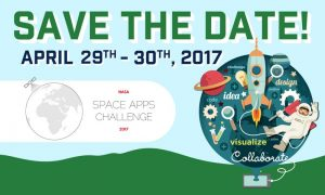 Space Apps 2017 Tampa Hackerspace Save the Date